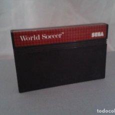 Videojuegos y Consolas: JUEGO SEGA MASTER SYSTEM WORLD SOCCER SOLO CARTUCHO PAL R8225. Lote 139514562