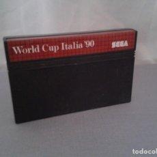 Videojuegos y Consolas: JUEGO SEGA MASTER SYSTEM WORLD CUP ITALIA 90 SOLO CARTUCHO PAL R8226. Lote 139514646