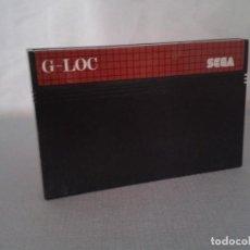 Videojuegos y Consolas: JUEGO SEGA MASTER SYSTEM G-LOC GLOC SOLO CARTUCHO PAL R8229. Lote 139514874
