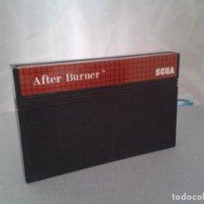 Videojuegos y Consolas: JUEGO SEGA MASTER SYSTEM AFTER BURNER SOLO CARTUCHO PAL R8232. Lote 139515090
