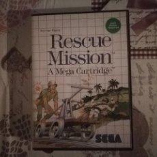 Videojuegos y Consolas: RESCUE MISSION A MEGA CARTIDGE MASTER SYSTEM. Lote 139894602