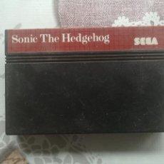 Videojuegos y Consolas: SONIC THE HEDGEHOG MASTER SYSTEM. Lote 140625002