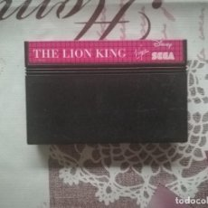 Videojuegos y Consolas: THE LION KING MASTER SYSTEM . Lote 140679610