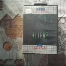Videojuegos y Consolas: ALIEN 3 MASTER SYSTEM. Lote 141201266