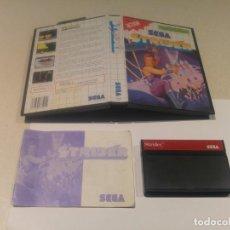 Videojuegos y Consolas: STRIDER SEGA MASTER SYSTEM COMPLETO PAL VERSION . Lote 143904826