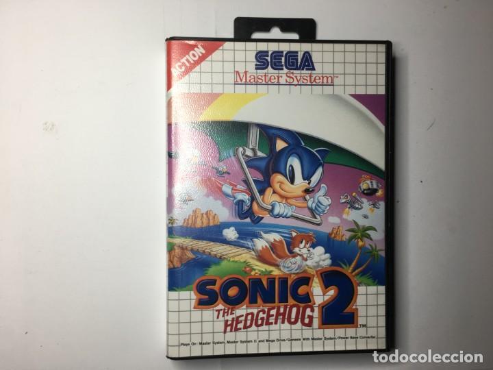 JUEGO SONIC 2 - SEGA MASTER SYSTEM (Juguetes - Videojuegos y Consolas - Sega - Master System)