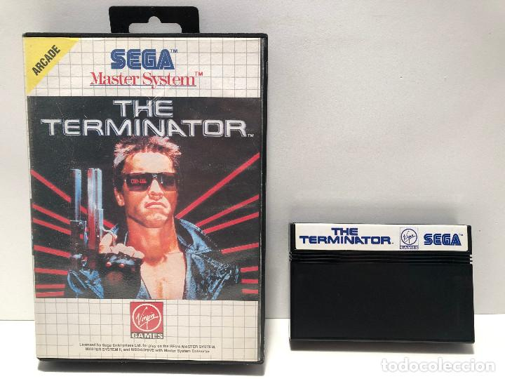 THE TERMINATOR SEGA MASTER SYSTEM (Juguetes - Videojuegos y Consolas - Sega - Master System)