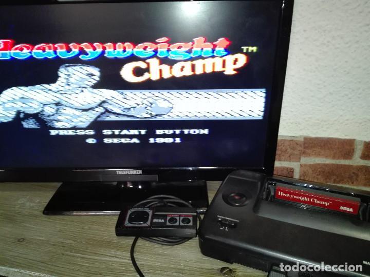 Videojuegos y Consolas: Heavyweight Champ Sega Master System - Foto 3 - 146584526