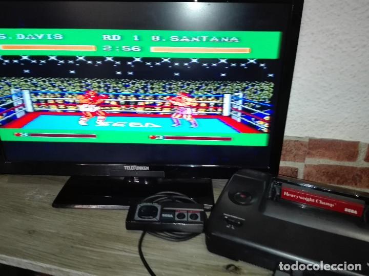 Videojuegos y Consolas: Heavyweight Champ Sega Master System - Foto 4 - 146584526