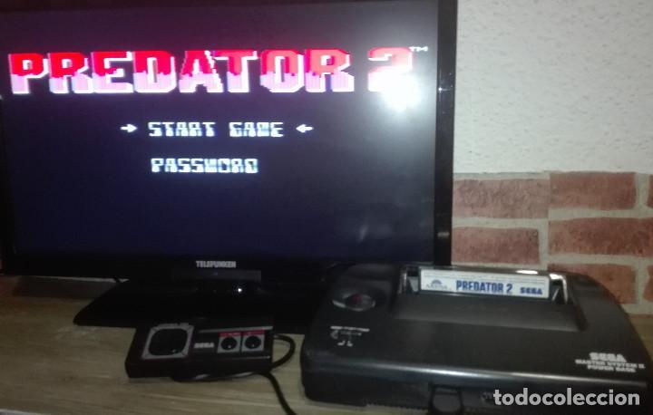 Videojuegos y Consolas: Predator 2 Sega Master System - Foto 6 - 146584574