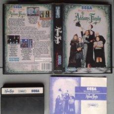 Videojuegos y Consolas: JUEGO SEGA MASTER SYSTEM THE ADDAMS FAMILY COMPLETO CON MANUAL CIB PAL RARO++! R8290. Lote 147339682