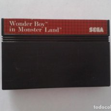 Videojuegos y Consolas: SEGA MASTER SYSTEM THE WONDER BOY IN MONSTER LAND SOLO CARTUCHO PAL R8306. Lote 147340622