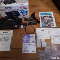 Videojuegos y Consolas: SEGA MASTER SYSTEM II SONIC HEDGEHOG LEER!. Lote 147909338