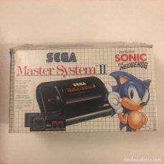 Videojuegos y Consolas: CONSOLA SEGA MASTER SYSTEM II ALEX KIDD EN SU CAJA ORIGINAL.. Lote 149892666