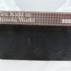 Videojuegos y Consolas: JUEGO PARA SEGA MASTER SYSTEM ALEX KIDD IN SHINOBI WORLD. Lote 150584478