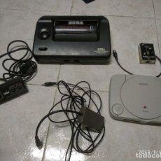 Videojuegos y Consolas: LOTE SEGA MASTER SYSTEM, PLAYSTATION, MANDO Y CABLES SEGA MASTER SYSTEM. Lote 150693682