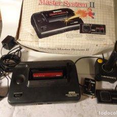 Videojuegos y Consolas: ANTIGUA CONSOLA SEGA MASTER SYSTEM II, JOYSTICK, 1 JUEGO , MANDO, VER FOTOS. Lote 150983470