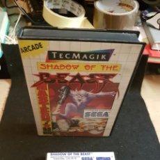 Videojuegos y Consolas: SEGA MASTER SYSTEM SHADOW OF THE BEAST. Lote 151463113