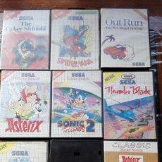 Videojuegos y Consolas: JUEGOS SEGA MASTER SYSTEM.. Lote 151638106