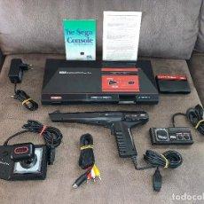 Videojuegos y Consolas: SEGA MASTER SYSTEM 1 + PISTOLA + MANDO + SONIC + JOYSTICK + CABLEADO Y POSTERS. Lote 151957402