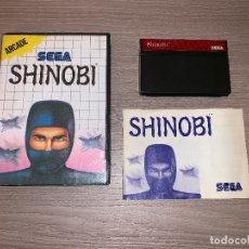 Videojuegos y Consolas: SHINOBI - SEGA MASTER SYSTEM - COMPLETO PAL . Lote 151974122