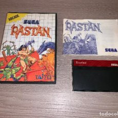 Videojuegos y Consolas: RASTAN - SEGA MASTER SYSTEM - COMPLETO - PAL. Lote 152002710