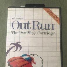 Videojuegos y Consolas: ANTIGUO JUEGO SEGA OUT RUN . Lote 152430430