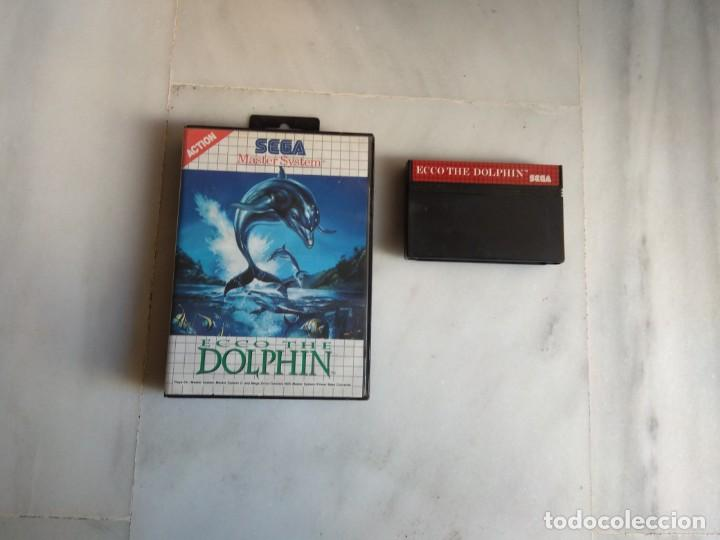 JUEGO MASTER SYSTEM DOLPHIN (Juguetes - Videojuegos y Consolas - Sega - Master System)