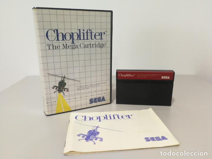 JUEGO COMPLETO CHOPLIFTER MASTER SYSTEM (Juguetes - Videojuegos y Consolas - Sega - Master System)