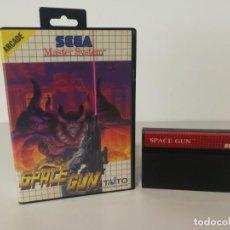 Videojuegos y Consolas: JUEGO SIN INSTRUCCIONES SPACE GUN MASTER SYSTEM . Lote 153252246