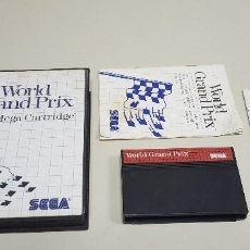 Videojuegos y Consolas: J- WORLD GRAND PRIX SEGA MASTER SYSTEM 1986 . Lote 155040094