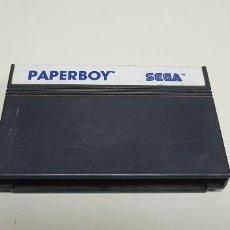 Videojuegos y Consolas: J- PAPER BOY SEGA MASTER SYSTEM . Lote 155042034