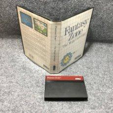 Videojuegos y Consolas: FANTASY ZONE SEGA MASTER SYSTEM. Lote 155044232
