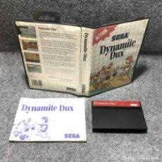 Videojuegos y Consolas: DYNAMITE DUX SEGA MASTER SYSTEM. Lote 155044236