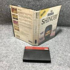 Videojuegos y Consolas: SHINOBI SEGA MASTER SYSTEM. Lote 155044240