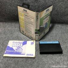 Videojuegos y Consolas: SENSIBLE SOCCER SEGA MASTER SYSTEM. Lote 155044248