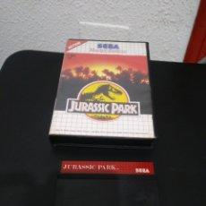 Videojuegos y Consolas: JUEGO JURASSIC PARK MASTER SYSTEM.. Lote 156245645