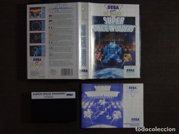 Videojuegos y Consolas: JUEGO SEGA MASTER SYSTEM SUPER SPACE INVADERS - Foto 3 - 223296956