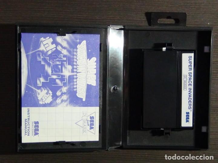 Videojuegos y Consolas: JUEGO SEGA MASTER SYSTEM SUPER SPACE INVADERS - Foto 4 - 223296956