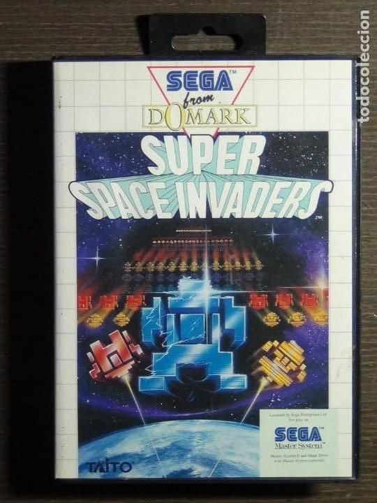 JUEGO SEGA MASTER SYSTEM SUPER SPACE INVADERS (Juguetes - Videojuegos y Consolas - Sega - Master System)