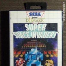 Videojuegos y Consolas: JUEGO SEGA MASTER SYSTEM SUPER SPACE INVADERS. Lote 156595634