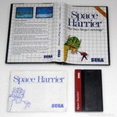 Videojuegos y Consolas: SPACE HARRIER MASTER SYSTEM SEGA VIDEOJUEGO. Lote 158338466