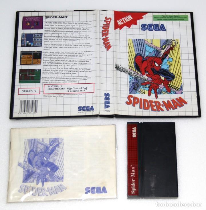 SPIDERMAN SPIDER MAN MASTER SYSTEM SEGA VIDEOJUEGO MARVEL (Juguetes - Videojuegos y Consolas - Sega - Master System)