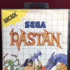 Videojuegos y Consolas: MASTER SYSTEM RASTAN. Lote 160267501