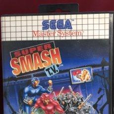 Videojuegos y Consolas: MASTER SYSTEM SÚPER SMASH TV. Lote 160267790