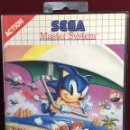 Videojuegos y Consolas: MASTER SYSTEM SONIC THE HEDGEHOG 2 SIN MANUAL. Lote 160332980