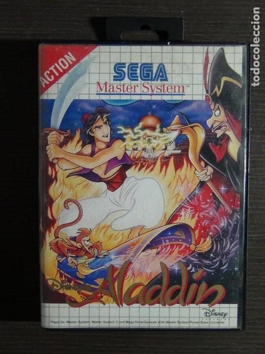 Videojuegos y Consolas: Juego Disneys Aladdin Sega Master System - Aladin - Foto 2 - 161888078