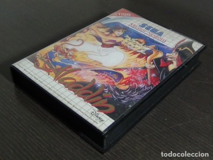 Videojuegos y Consolas: Juego Disneys Aladdin Sega Master System - Aladin - Foto 3 - 161888078