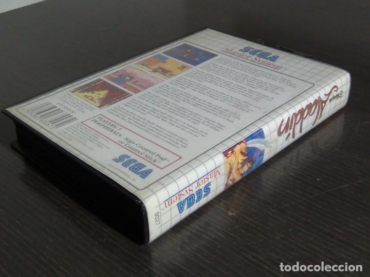 Videojuegos y Consolas: Juego Disneys Aladdin Sega Master System - Aladin - Foto 5 - 161888078