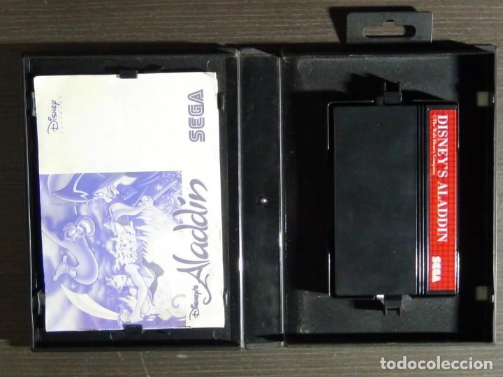 Videojuegos y Consolas: Juego Disneys Aladdin Sega Master System - Aladin - Foto 7 - 161888078